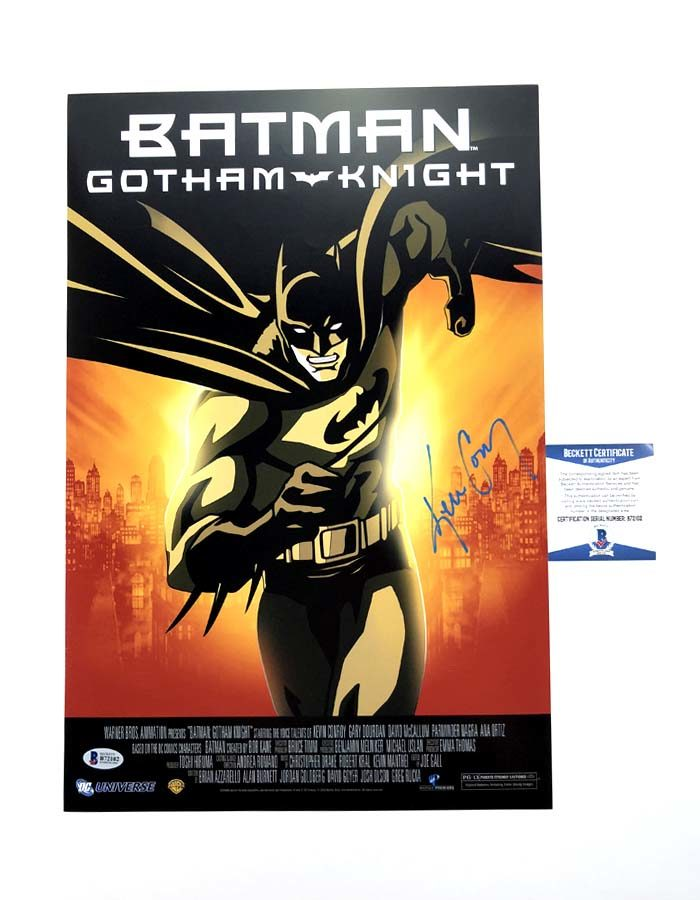 "Kevin Conroy signed 12""x18"" Poster"