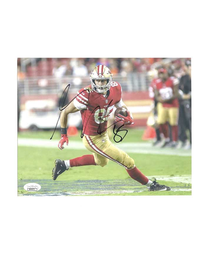 George Kittle Signed 8x10 Photo San Francisco 49ers NFL Football