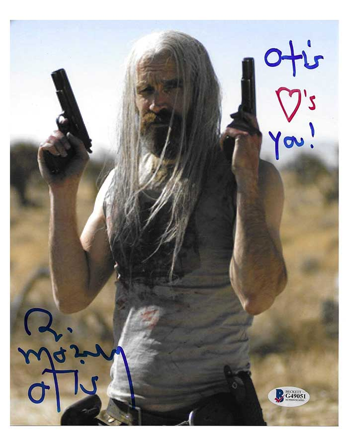 Bill Moseley Signed 8x10 Photo House of 1000 Corpses