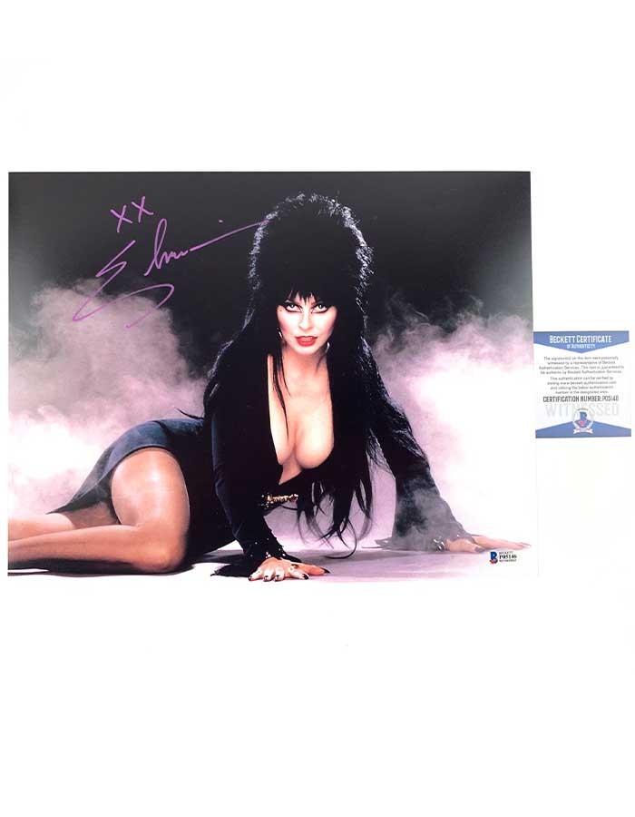 Elivra signed 11x14 Photo