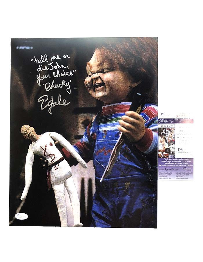 "Ed Gale signed 11""x14"" Photo Child's Play"