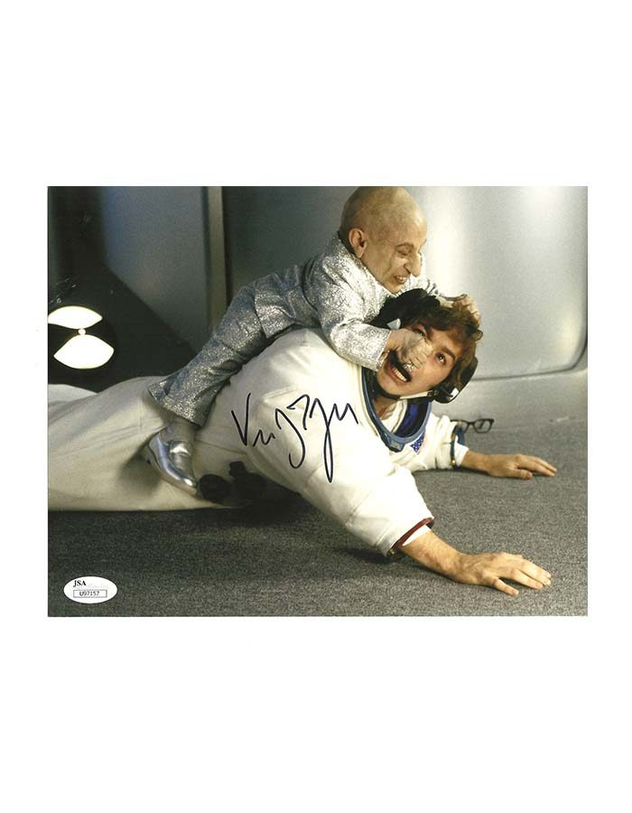 """Verne Troyer signed 8""""x10"""" Photo Mini Me"""