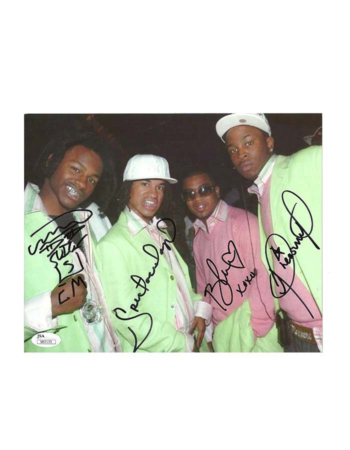 "Pretty Ricky signed 8""x10"" Photo"