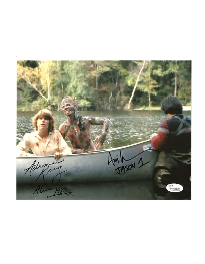 Adrienne King signed 8x10 Friday the 13th Photo