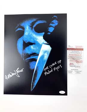A. Michael Lerner Signed 11x14 Photo Halloween 6