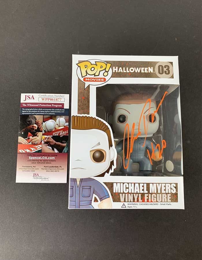 Chris Durand Signed Funko Pop Figure Michael Myers