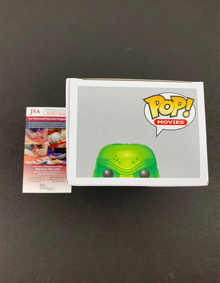 Ricou Browning signed Funko Pop Figure Creature From the Black Lagoon